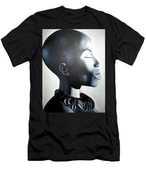 African Elegance - Original Artwork Men's T-Shirt (Athletic Fit)