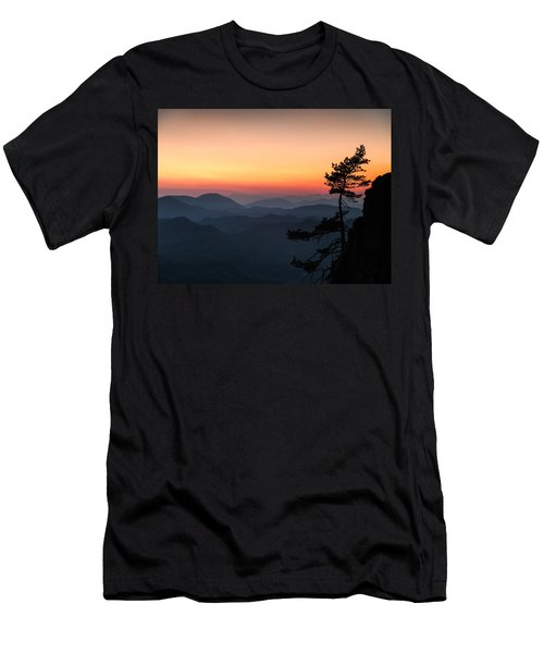 At The End Of The Day Men's T-Shirt (Slim Fit) by Davorin Mance