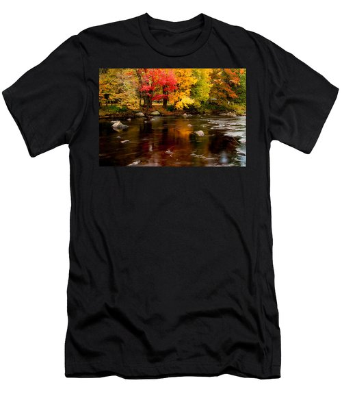 Autumn Colors Reflected Men's T-Shirt (Athletic Fit)