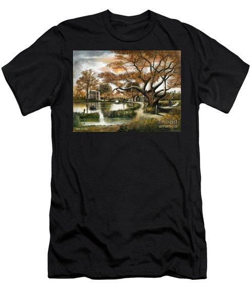 Autumn Stroll Men's T-Shirt (Athletic Fit)