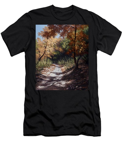 Autumn Trails Men's T-Shirt (Athletic Fit)