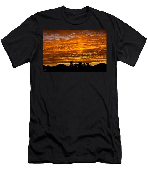 1 Awsome Sunset Men's T-Shirt (Athletic Fit)