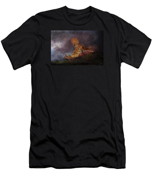 Back From The Nightmare Men's T-Shirt (Slim Fit) by Kate Black