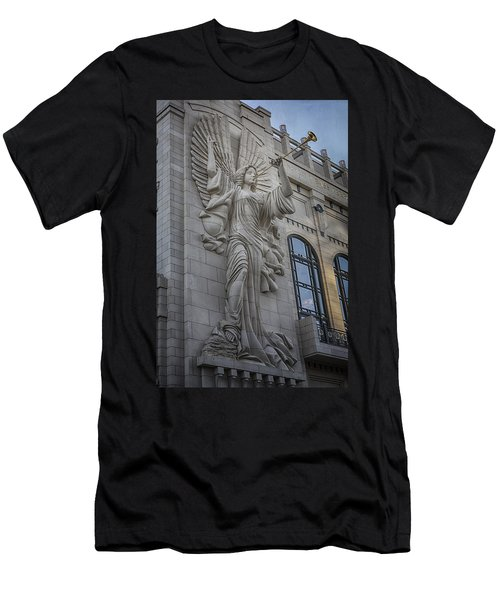 Bass Hall Angel Men's T-Shirt (Athletic Fit)