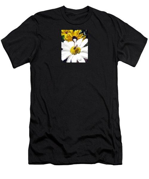 Beecause Men's T-Shirt (Slim Fit) by Janice Westerberg