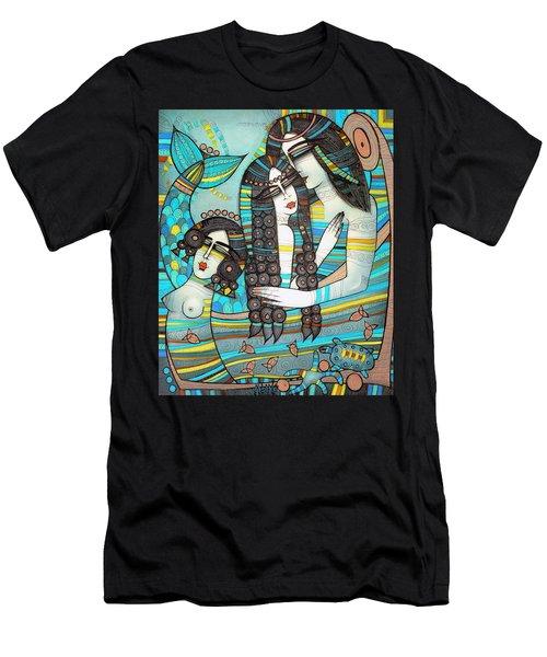 Beyond The Oceans... Men's T-Shirt (Slim Fit)