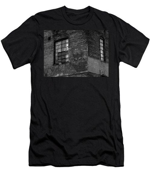 Black Kat Men's T-Shirt (Slim Fit) by Robert Geary