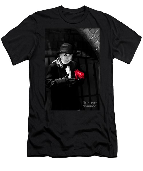 Black Magician With Surprise Gift Men's T-Shirt (Athletic Fit)