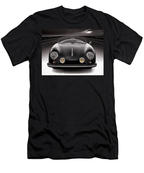 Black Speedster Men's T-Shirt (Athletic Fit)