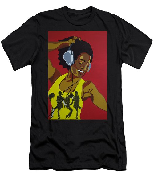 Blame It On The Boogie Men's T-Shirt (Athletic Fit)