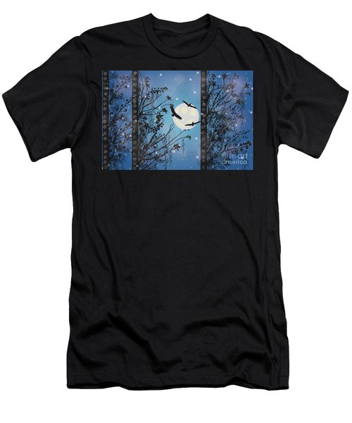 Blue Winter Men's T-Shirt (Athletic Fit)