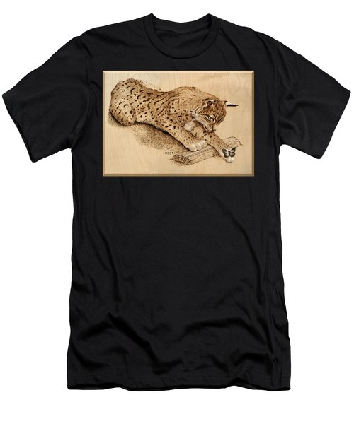 Bobcat And Friend Men's T-Shirt (Athletic Fit)