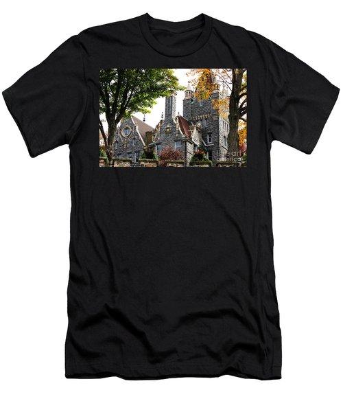 Boldt Castle Men's T-Shirt (Slim Fit) by Tony Cooper