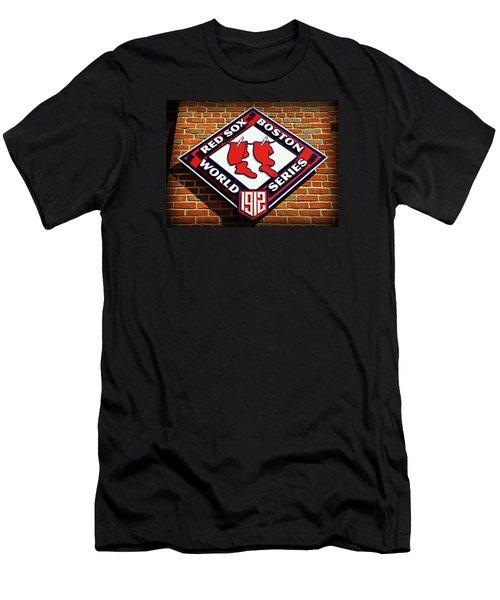 Boston Red Sox 1912 World Champions Men's T-Shirt (Slim Fit) by Stephen Stookey