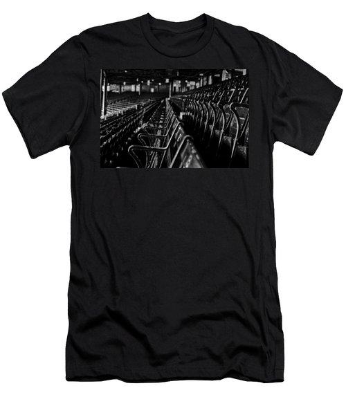 Bostons Fenway Park Baseball Vintage Seats Men's T-Shirt (Slim Fit) by Doc Braham