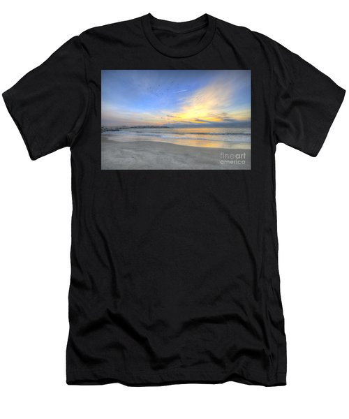 Breach Inlet Sunrise Men's T-Shirt (Athletic Fit)