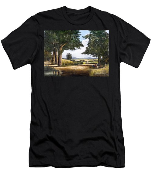 Bromyard Downs Men's T-Shirt (Athletic Fit)