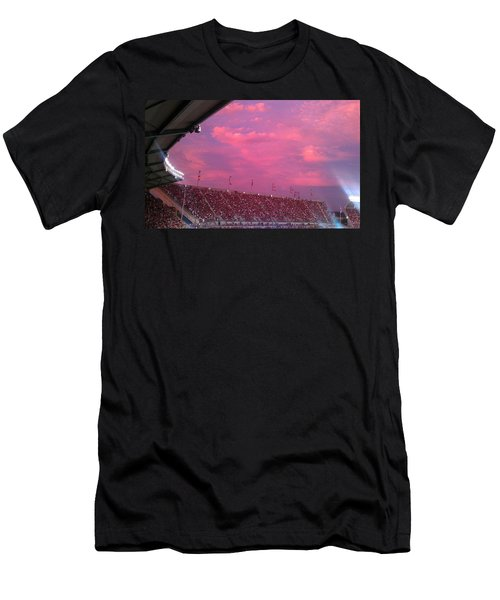 Bryant-denny Painted Sky Men's T-Shirt (Athletic Fit)