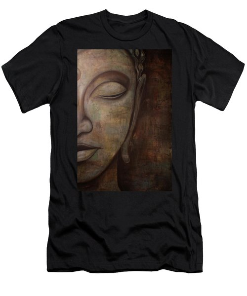 Men's T-Shirt (Athletic Fit) featuring the painting Buddha by Blake Emory