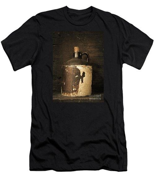 Buddy Bear's Little Brown Jug Men's T-Shirt (Athletic Fit)