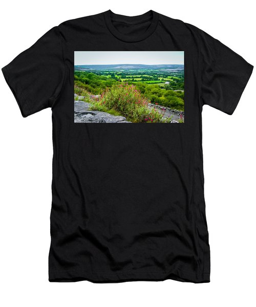 Burren National Park's Lovely Vistas Men's T-Shirt (Athletic Fit)