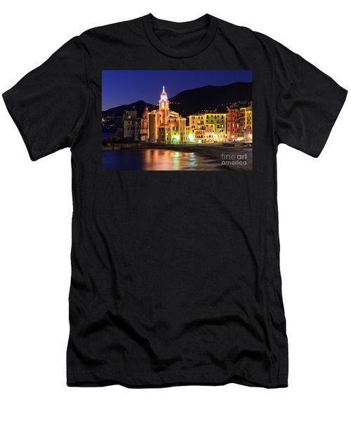 Camogli At Evening Men's T-Shirt (Athletic Fit)