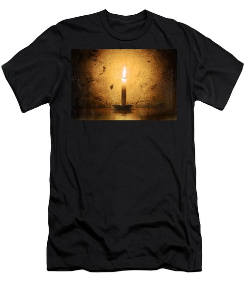 Candle Men's T-Shirt (Athletic Fit)