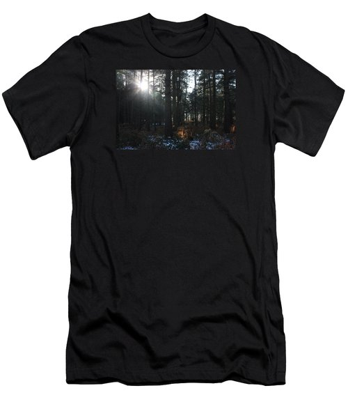 Men's T-Shirt (Slim Fit) featuring the photograph Cannock Chase by Jean Walker