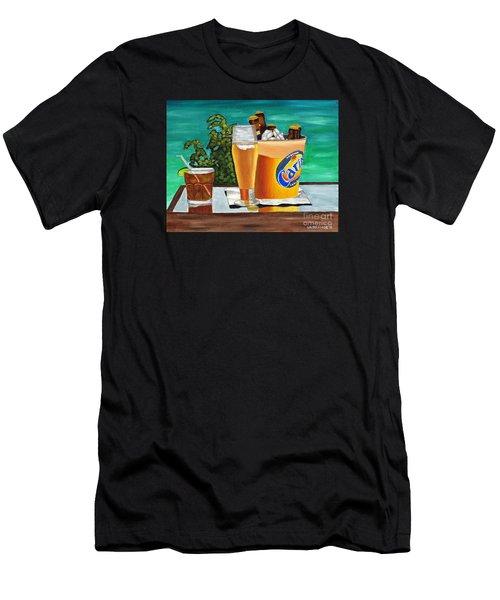 Caribbean Beer Men's T-Shirt (Athletic Fit)