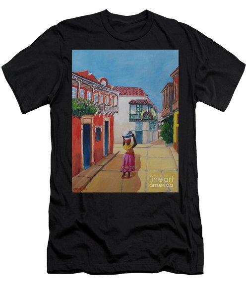 Cartagena Seller Men's T-Shirt (Athletic Fit)