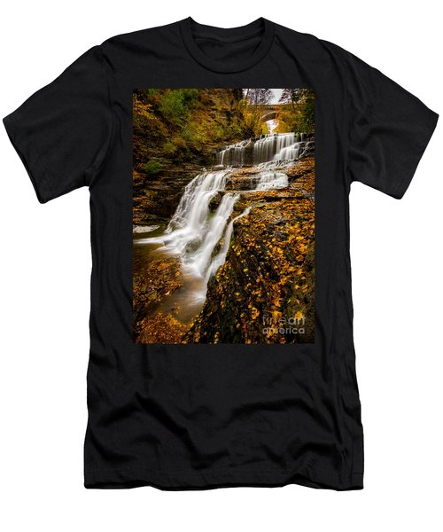 Cascadilla Gorge Men's T-Shirt (Athletic Fit)