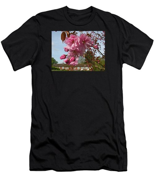 Cherry Blossom Spring Men's T-Shirt (Athletic Fit)