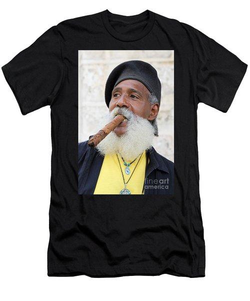 Cigar Man Men's T-Shirt (Athletic Fit)