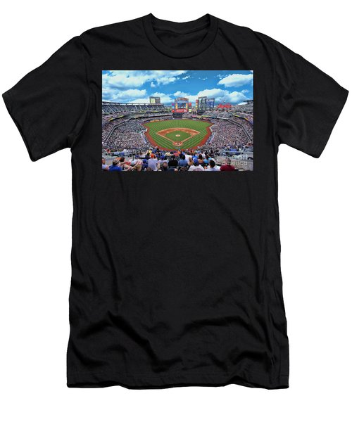 Citi Field 2 - Home Of The N Y Mets Men's T-Shirt (Athletic Fit)