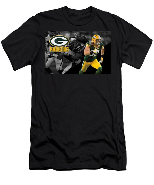Clay Matthews Packers Men's T-Shirt (Athletic Fit)