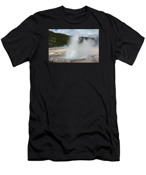 Cliff Geyser Men's T-Shirt (Athletic Fit)
