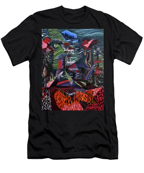 Cocytemensia Men's T-Shirt (Slim Fit) by Ryan Demaree