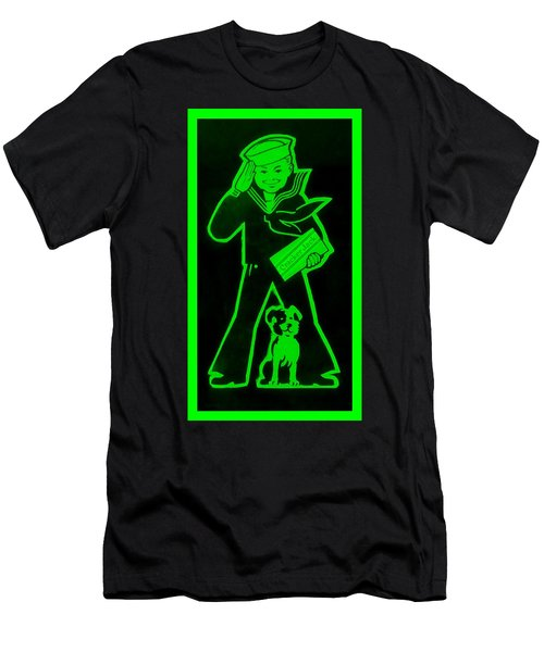 Crackerjack Green Men's T-Shirt (Athletic Fit)