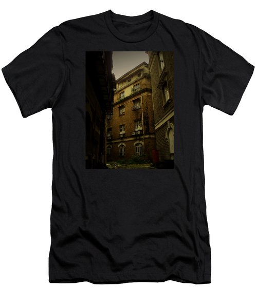 Men's T-Shirt (Slim Fit) featuring the photograph Crime Alley by Salman Ravish