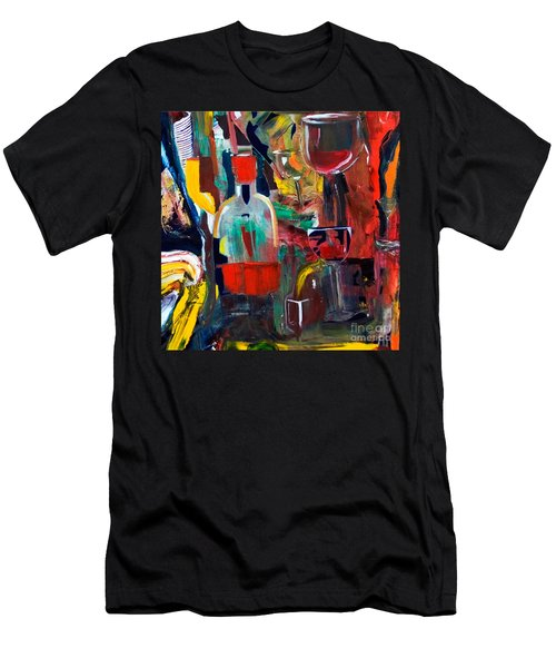 Cut IIi Wine Woman And Music Men's T-Shirt (Athletic Fit)