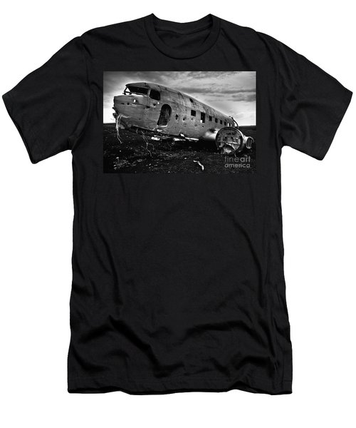 Men's T-Shirt (Slim Fit) featuring the photograph Dc-3  by Gunnar Orn Arnason