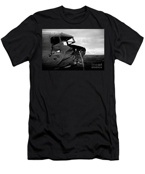 Men's T-Shirt (Slim Fit) featuring the photograph Dc 3 Iceland by Gunnar Orn Arnason