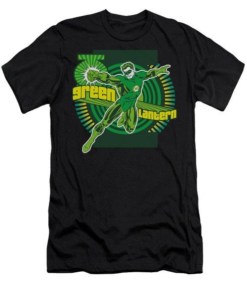 Dc - Green Lantern Men's T-Shirt (Athletic Fit)