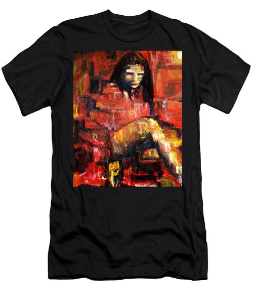 Fractured Men's T-Shirt (Athletic Fit)