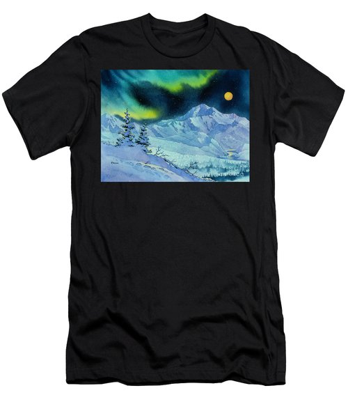 Denali Night Men's T-Shirt (Athletic Fit)