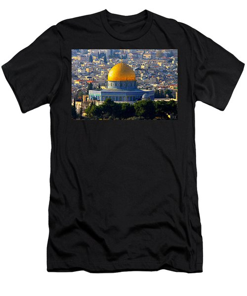 Dome Of The Rock Men's T-Shirt (Athletic Fit)