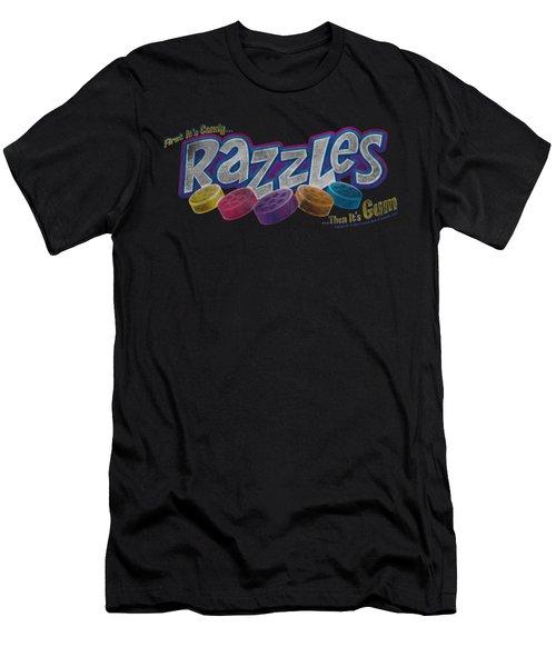 Dubble Bubble - Distressed Logo Men's T-Shirt (Athletic Fit)