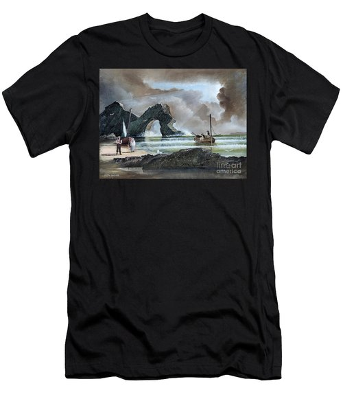Durdle Door - Dorset Men's T-Shirt (Athletic Fit)