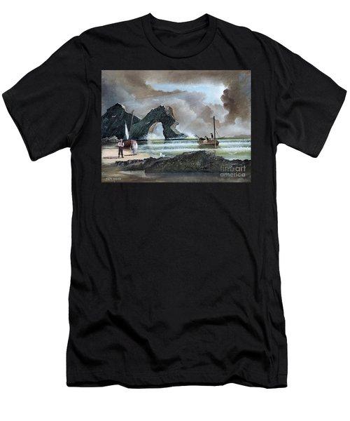 Durdle Door - Dorset Men's T-Shirt (Athletic Fit)