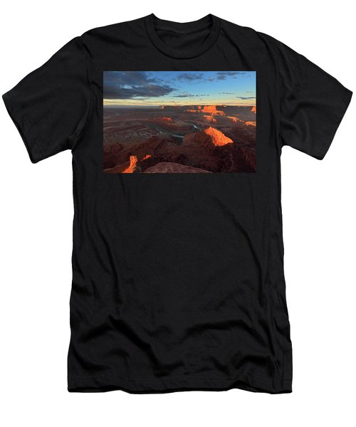 Early Morning At Dead Horse Point Men's T-Shirt (Athletic Fit)